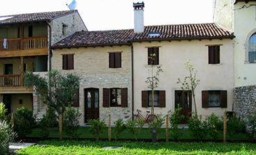 Appartamento al piano terra in complesso storico